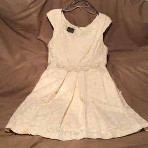 Knee length tea dress
